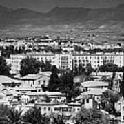 Ledra Palace Hotel Border Crossing Point In Nicosia Lefkosia Republic Of Cyprus Art Print