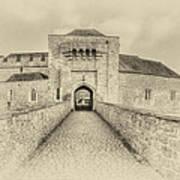Leeds Castle Nostalgic 3 Art Print