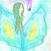 Leelavy Fairy / Fada Leelavy Art Print by Rosana Ortiz