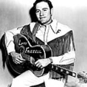 Lefty Frizzell, 1950s Art Print by Everett