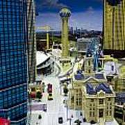 Legoland Dallas Iv Art Print by Ricky Barnard