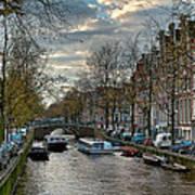 Leidsegracht. Amsterdam Art Print