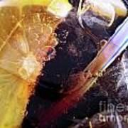 Lemon And Straw Art Print