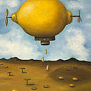 Lemon Drops Art Print