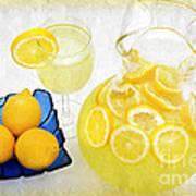 Lemonade And Summertime Art Print