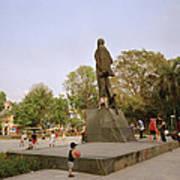 Lenin In Hanoi Art Print