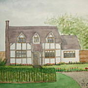 Leominster Cottage Art Print