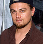 Leonardo Dicaprio Arrives Print by Everett