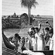 Leper, 1837 Art Print