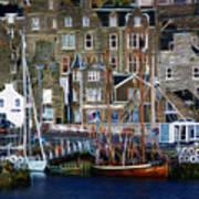 Lerwick Harbour Shetland Art Print