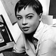 Leslie Caron, Ca. 1950s Art Print
