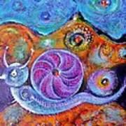 Let's Say a Snail Art Print