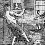 Letter Press Printer, 1807 Art Print