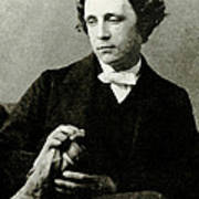 Lewis Carroll, English Author Art Print by Photo Researchers