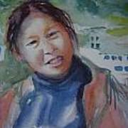 Lhamo-la Art Print