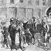 Liberated Slaves, 1861 Art Print