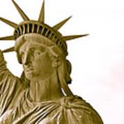 Liberty Up Close Art Print
