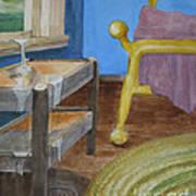 Life Enters The Bedroom Art Print