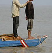 Life On Lake Tonle Sap 4 Art Print
