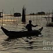Life On Lake Tonle Sap 7 Art Print