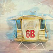 Lifeguard Post No 6b Hookipa State Park Art Print