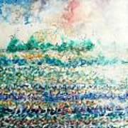 Light And Water Art Print
