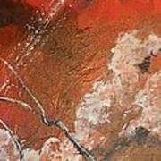 Light In The Red Sky Art Print