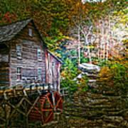 Light On The Mill Art Print