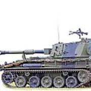 Light Weight Battle Tank Art Print