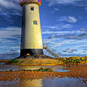 Lighthouse Print by Adrian Evans