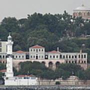 Lighthouse At The Bosphorus - Istanbul Art Print