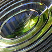 Lighthouse Lens Pensacola Art Print