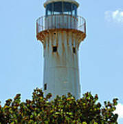 Lighthouse On Grand Turk 2 Art Print