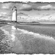 Lighthouse Reflected Art Print