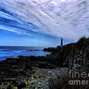 Lighthouse Sky Art Print