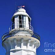 Lighthouse Turret Art Print
