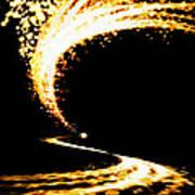 Lighting Explosion Art Print
