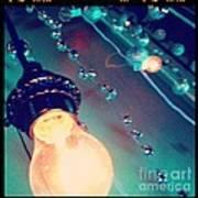 Lights Camera Action Art Print