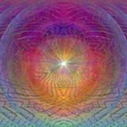Lightwave Geometrics Art Print