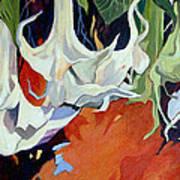 Lilies In Splendor Art Print