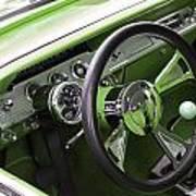 Lime Chevy Impala  Art Print