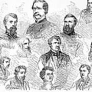 Lincoln Assassins Trial Art Print