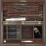 Lincoln Autopsy Kit, 1865 Art Print