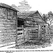 Lincoln Birthplace Art Print