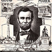 Lincoln Centennial, C1909 Art Print