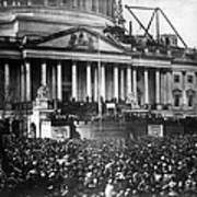 Lincoln Inauguration, 1861 Art Print by Chicago Historical Society