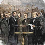 Lincoln Inauguration, 1865 Art Print by Granger