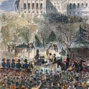 Lincoln Inauguration Art Print