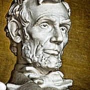 Lincoln Profle 2 Art Print