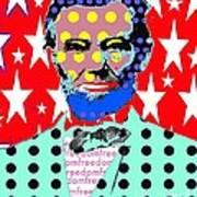 Lincoln Art Print by Ricky Sencion